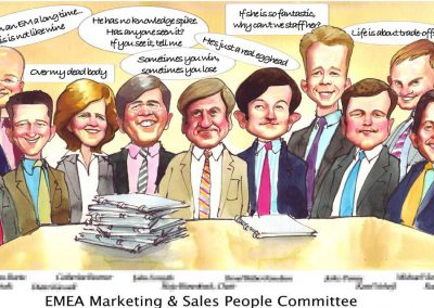 original-business-deal-team-tombstone-award-caricature-giggleface-McKinsey-EMEA