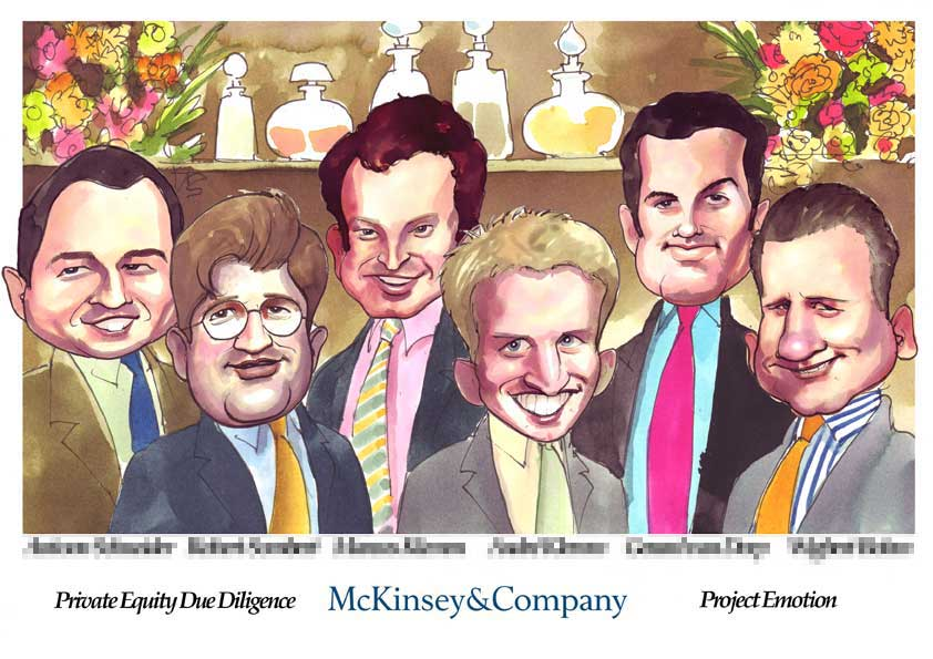 Deal Tombstone Cartoon – McKinsey – Emotion