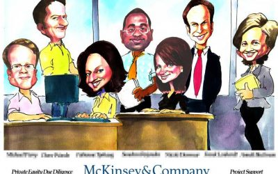 Deal Tombstone Cartoon – McKinsey – Support