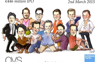 Deal Tombstone Cartoon – Goldman Sachs – OVS