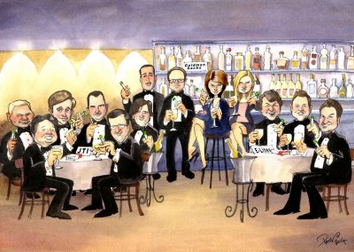 original-corporate-deal-team-tombstone-award-caricature-giggleface-GoldmanSachs 9