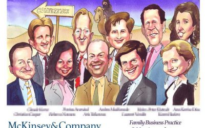 Deal Tombstone Cartoon – McKinsey – Family