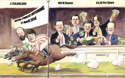 Deal Tombstone Cartoon – Goldman Sachs – Anima