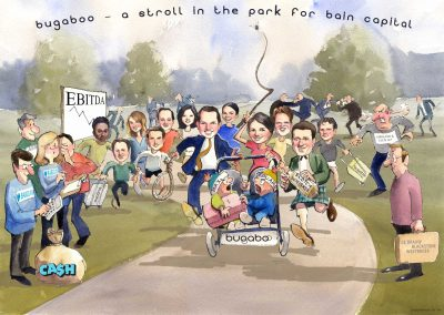 caricature-business-group-financial-deal-tombstone-caricature-giggleface-Barclays-Bugaboo